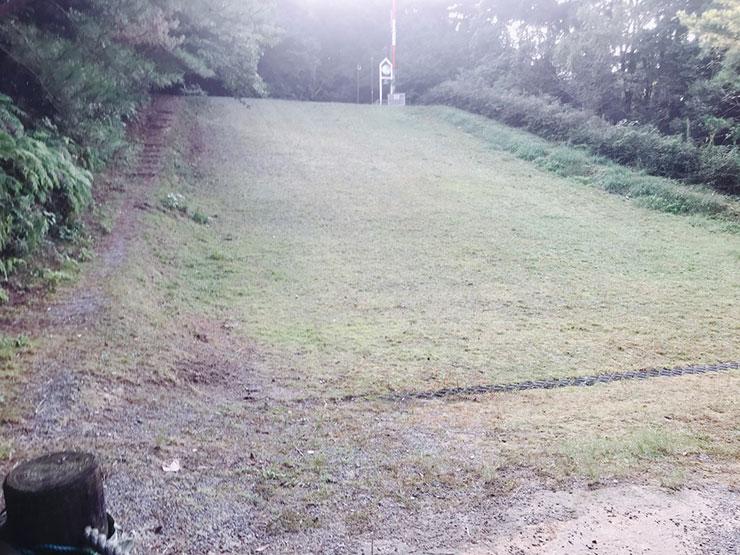 草スキー場