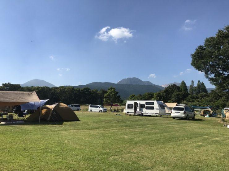 高原の里のキャンプ場